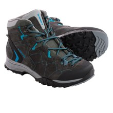 Lowa Focus Gore-Tex® QC Hiking Boots - Waterproof (For Women) in Anthracite/Turquoise - Closeouts