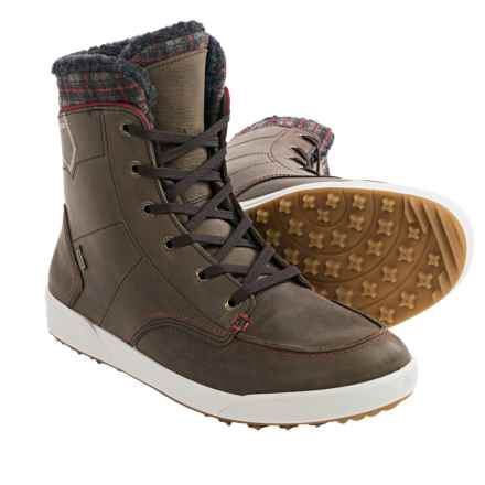 Lowa Glasgow Gore-Tex® Mid-Winter Snow Boots - Waterproof, Leather (For Men) in Brown - Closeouts
