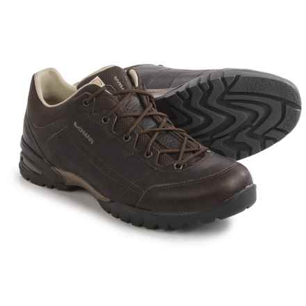 Lowa Hudson LL LO Sneakers (For Men) in Dark Brown - Closeouts