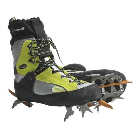 Lowa Ice Comp Gore-Tex® Ice Climbing Boots - Waterproof (For Men) in Lime/Silver - Closeouts