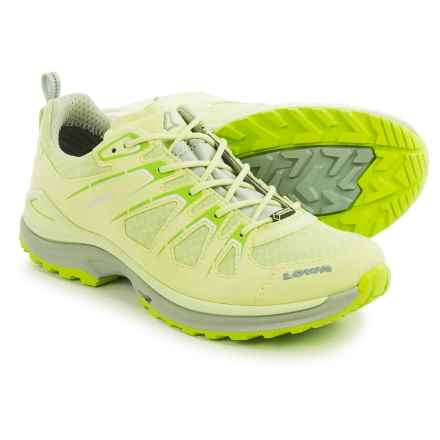 Lowa Innox Evo Gore-Tex® Lo Hiking Shoes - Waterproof (For Women) in Mint/Gray - Closeouts