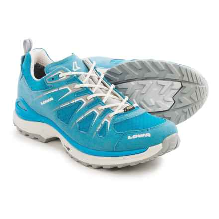 Lowa Innox Evo Gore-Tex® Lo Hiking Shoes - Waterproof (For Women) in Turquoise/White - Closeouts