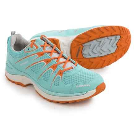 Lowa Innox EVO Hiking Shoes (For Women) in Aquamarine/Orange - Closeouts