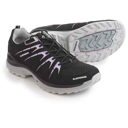 Lowa Innox EVO Hiking Shoes (For Women) in Black/Lilac - Closeouts