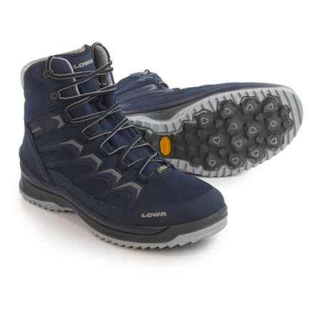 Lowa Innox Ice Gore-Tex® Mid Boots - Waterproof (For Men) in Navy/Gray - Closeouts