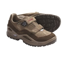 Lowa Jill Gore-Tex® Lo Hiking Shoes - Waterproof (For Girls) in Beige/Red - Closeouts