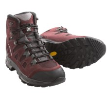 Lowa Khumbu II Gore-Tex® Hiking Boots - Waterproof (For Women) in Burgundy/Grey - Closeouts