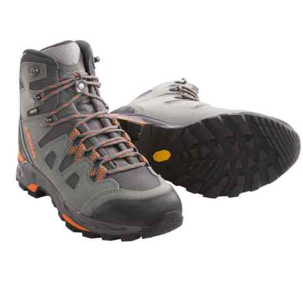 Lowa Khumbu II Gore-Tex® Hiking Boots - Waterproof (For Women) in Grey/Orange - Closeouts