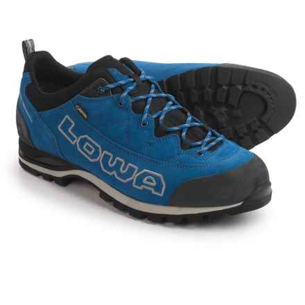 Lowa Laurin Gore-Tex® Lo Hiking Shoes - Waterproof, Suede (For Men) in Blue - Closeouts