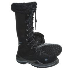 Lowa Lavaia Gore-Tex® Hi Hiking Boots - Waterproof, Insulated (For Women) in Black