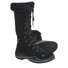 Lowa Lavaia Gore-Tex® Hi Winter  Hiking Boots - Waterproof, Insulated (For Women) in Black - Closeouts