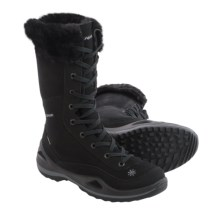 Lowa Lavaia II Gore-Tex® Snow Boots - Waterproof, Insulated (For Women) in Black - Closeouts