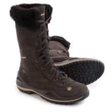 Lowa Lavaia II Gore-Tex® Snow Boots - Waterproof, Insulated (For Women) in Dark Brown - Closeouts