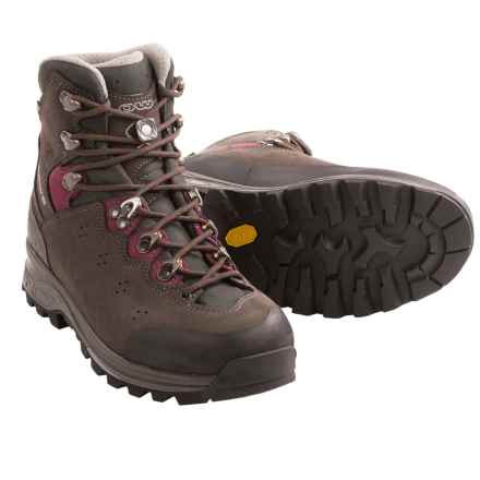 Lowa Lavena Gore-Tex® Hiking Boots - Waterproof (For Women) in Slate/Berry - Closeouts