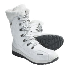 Lowa Lola Gore-Tex® Hi Hiking Boots - Waterproof, Insulated (For Girls) in White - Closeouts