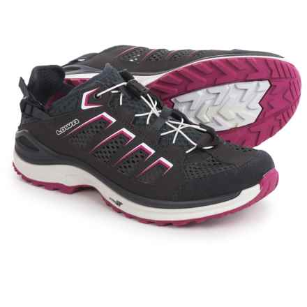 Lowa Madison Lo Water Shoes (For Women) in Graphite/Berry - Closeouts