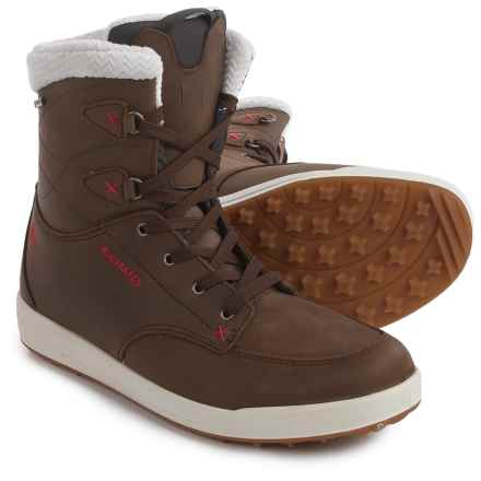 Lowa Melrose Gore-Tex® Mid Winter Boots - Waterproof, Insulated (For Women) in Brown/Red - Closeouts