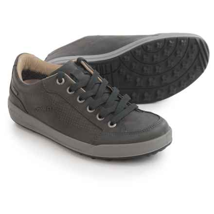 Lowa Merion Gore-Tex® Leather Shoes - Waterproof (For Women) in Anthracite - Closeouts