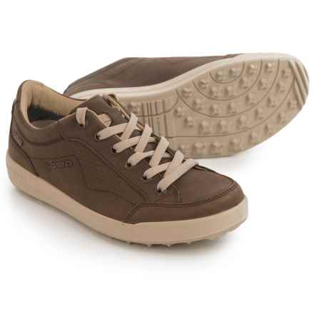 Lowa Merion Gore-Tex® Leather Shoes - Waterproof (For Women) in Brown/Cream - Closeouts