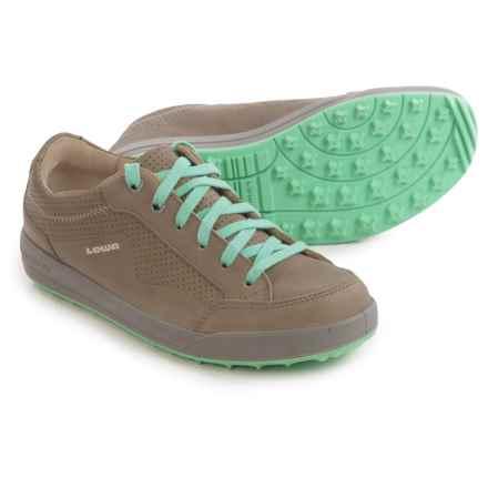 Lowa Merion Shoes - Nubuck (For Women) in Gray/Aqua - Closeouts