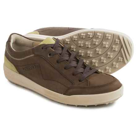 Lowa Merion Sneakers - Waxed Nubuck (For Women) in Brown/Mint - Closeouts