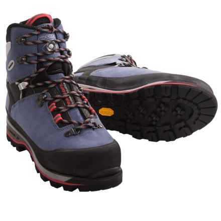 Lowa Mountain Expert Gore-Tex® Mountaineering Boots - Waterproof (For Women) in Blue Grey/Black - Closeouts