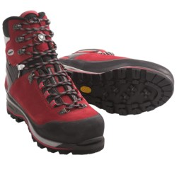 Lowa Mountain Expert Gore-Tex® Mountaineering Boots - Waterproof, Insulated (For Men) in Red/Black
