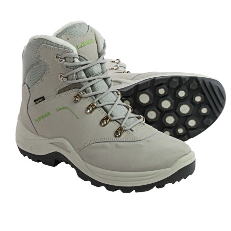 Lowa Nabucco Gore-Tex® Mid Snow Boots - Waterproof (For Women) in White