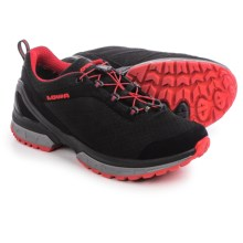 Lowa Onyx Gore-Tex® Lo Hiking Shoes - Waterproof (For Men) in Black/Red - Closeouts
