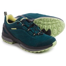 Lowa Onyx Gore-Tex® Lo Hiking Shoes - Waterproof (For Women) in Petrol/Mint - Closeouts