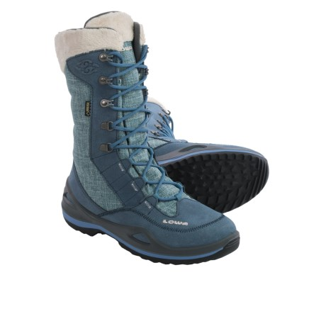 Lowa Paganella Gore-Tex® Winter Boots - Waterproof, Insulated (For Women) in Jeans