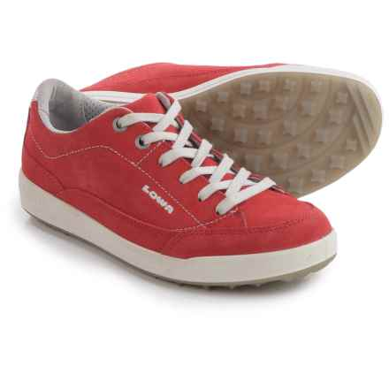 Lowa Palermo Damen Sneakers (For Women) in Red - Closeouts