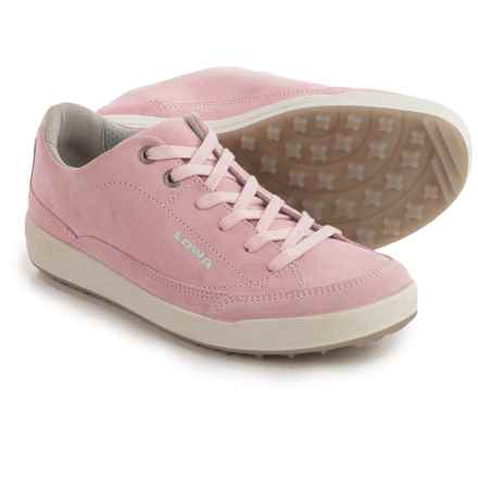 Lowa Palermo Damen Sneakers (For Women) in Rose - Closeouts