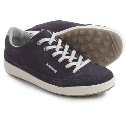 Lowa Palermo Sneakers - Suede (For Women) in Blackberry - Closeouts