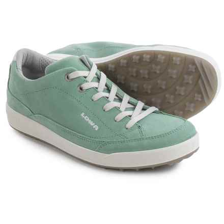 Lowa Palermo Sneakers - Suede (For Women) in Jade - Closeouts