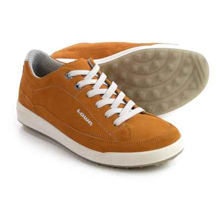 Lowa Palermo Sneakers - Suede (For Women) in Saffron - Closeouts