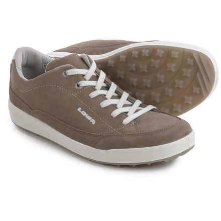 Lowa Palermo Sneakers - Suede (For Women) in Stone - Closeouts