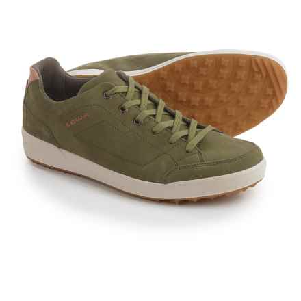 Lowa Palermo Suede Sneakers (For Men) in Light Olive - Closeouts