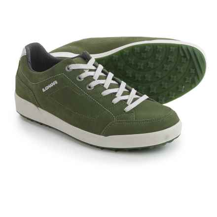 Lowa Palermo Suede Sneakers (For Men) in Moss Green - Closeouts
