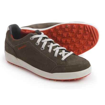 Lowa Palermo Suede Sneakers (For Men) in Olive/Rust - Closeouts