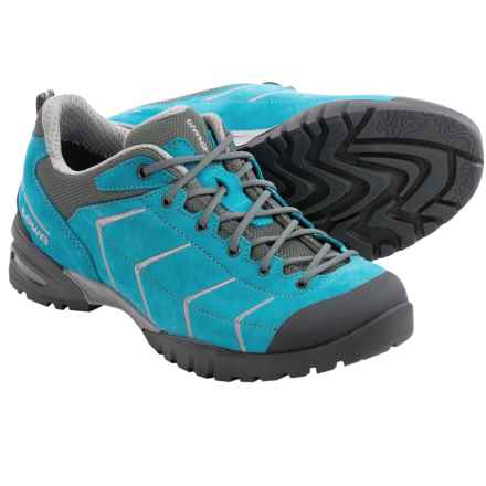 Lowa Palma Hiking Shoes (For Women) in Turquoise/Grey - Closeouts