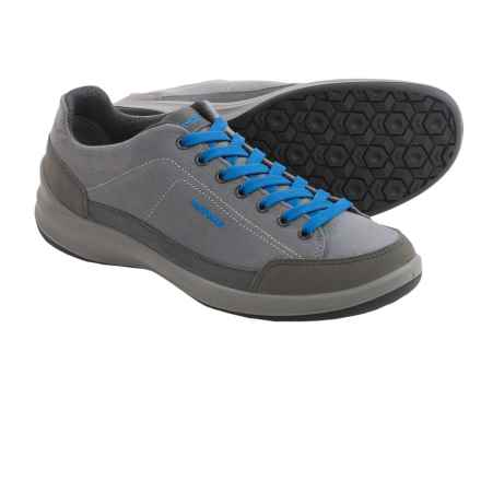 Lowa Pavo Casual Shoes (For Men) in Asphalt/Blue - Closeouts