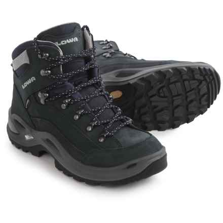 Lowa Renegade Gore-Tex® Mid Hiking Boots - Waterproof (For Women) in Navy - Closeouts