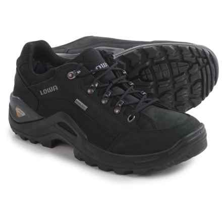 Lowa Renegade II Gore-Tex® Lo Hiking Shoes - Waterproof (For Men) in Black - Closeouts
