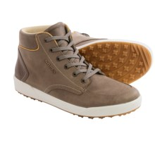 Lowa Richmond LL Qc Sneakers - Waxed Nubuck (For Men) in Taupe/Gold - Closeouts
