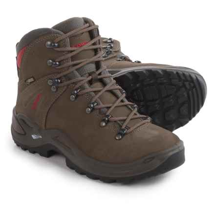 Lowa Ronan Gore-Tex® Mid Hiking Boots -Waterproof, Nubuck (For Women) in Stone - Closeouts