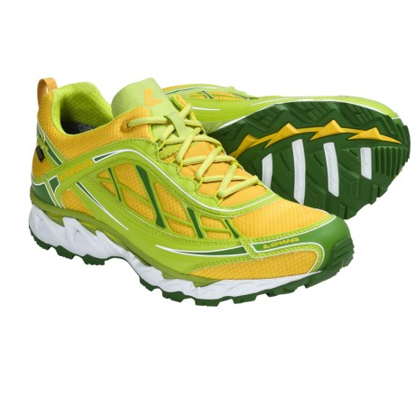Lowa S-Crown Gore-Tex® Trail Running Shoes - Waterproof (For Men) in Yellow/Green