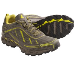Lowa S-Crown Mesh Trail Running Shoes (For Men) in Beige/Olive