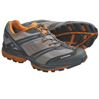 Lowa S-Cruise Gore-Tex® Trail Running Shoes - Waterproof (For Men) in Grey/Orange