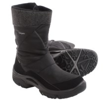 Lowa Saas Grund Gore-Tex® Snow Boots - Waterproof (For Men) in Black - Closeouts